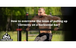How to overcome the issue of pulling up correctly on a horizontal bar?